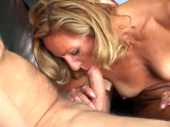 Mature Wife Slurping a Cock