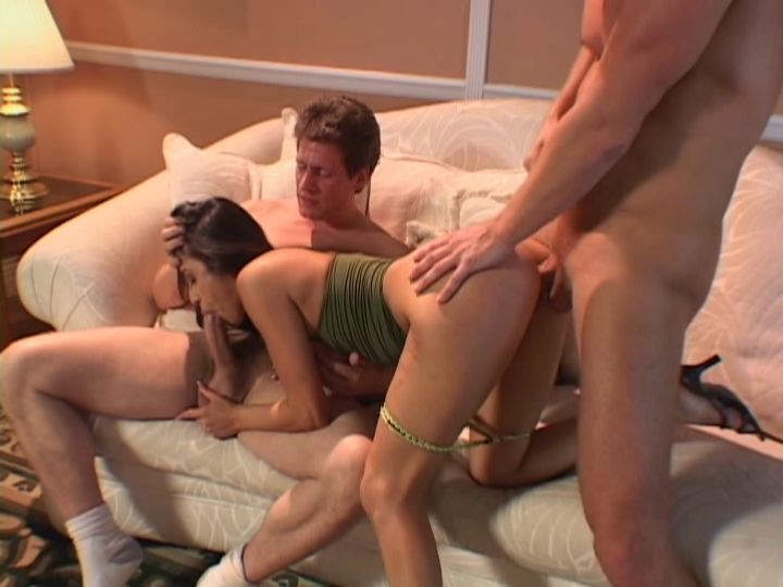 Wife Monica Nasty Threesome