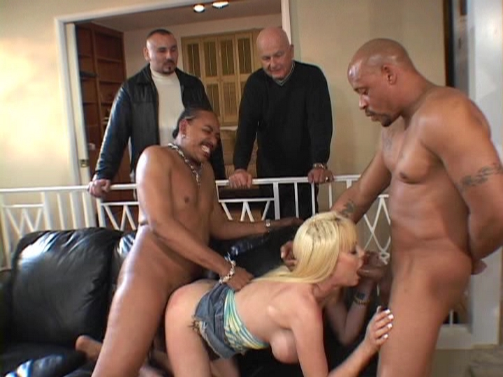 Blonde Wife Enjoys Interracial Banging