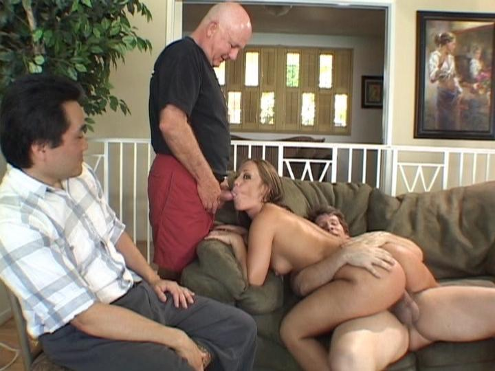 Blonde Wife Teasing Her Husband